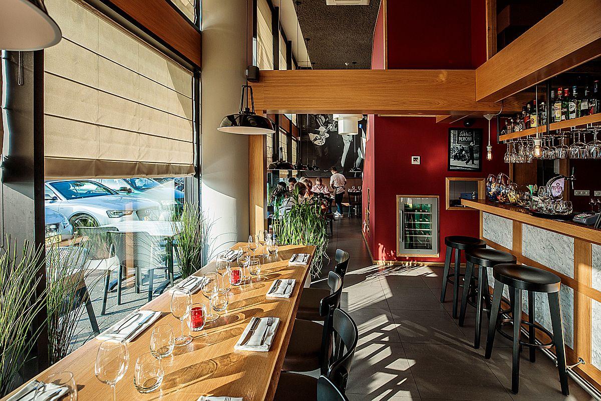Interieur Italiaans restaurant Gusto Di ItALB in Den Haag