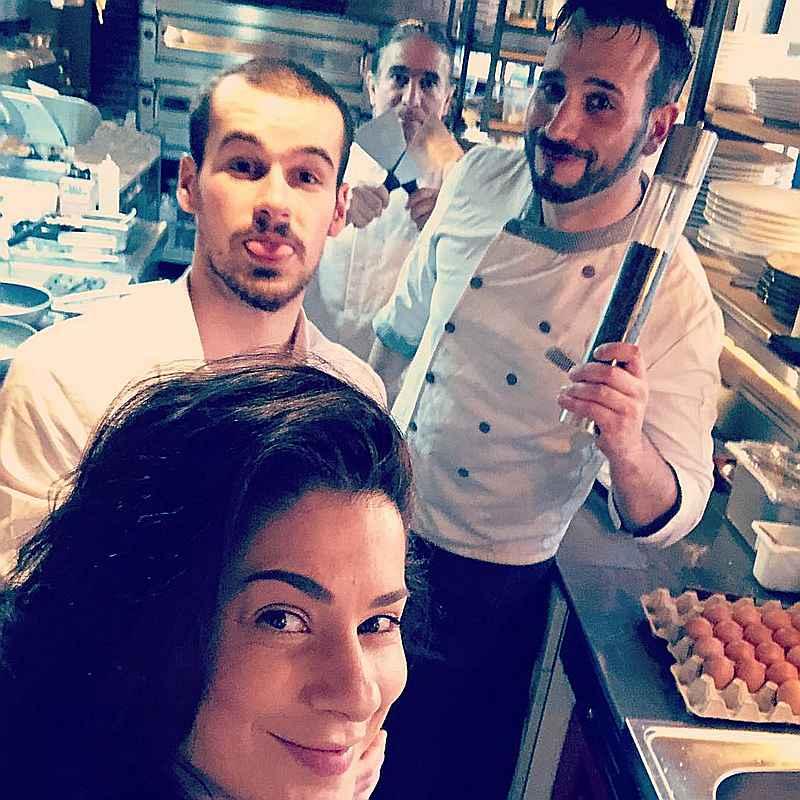 Keukenmedewerkers van Gusto di Italb