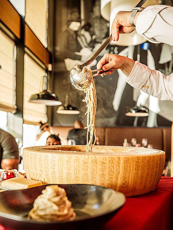 Spagetti Parmigiana bij Italiaans restaurant Gusto Di ItALB in Den Haag